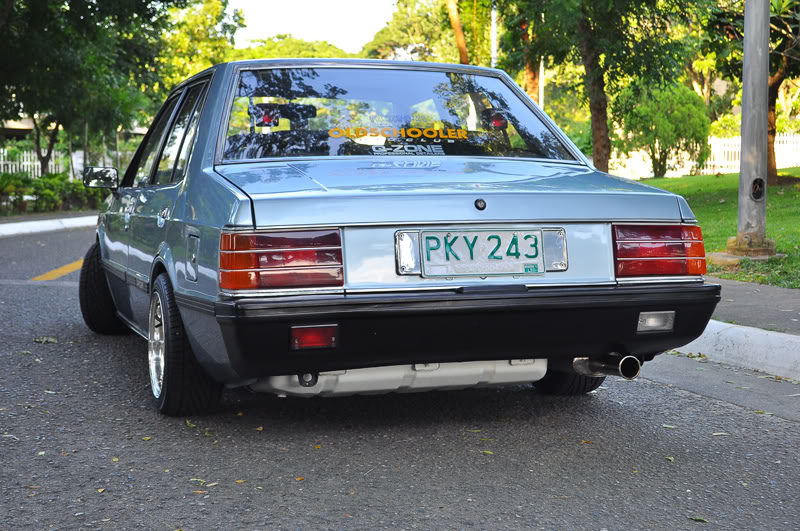 Mobil Klasik Mitsubishi Lancer SL 1979 1984 Doel