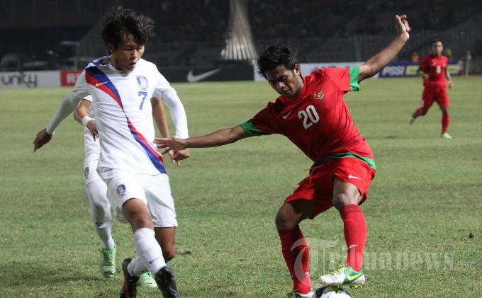 indonesia vs korea selatan afc u lengkap