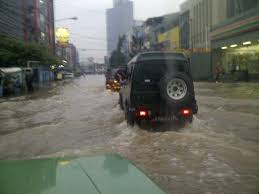 jimny lewat banjir