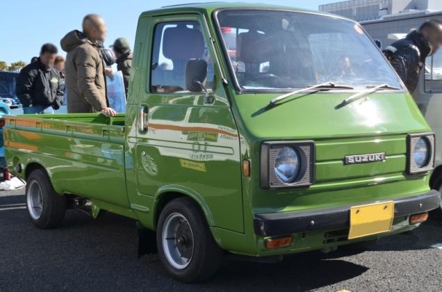 Suzuki-CarryWide st20 truck kei car