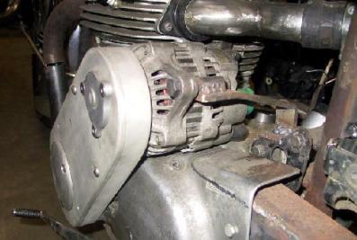 alternator mobil utk motor klasik
